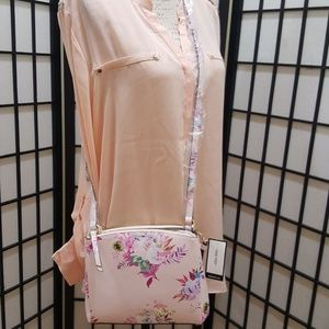 2Day Sale!Nine West Floral Crossbody
